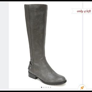 Life stride WIDE CALF GREY BOOTS BRAND NEW IN BOX